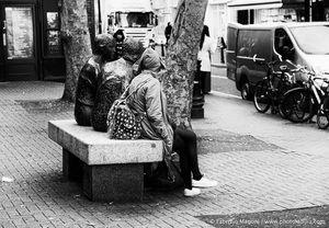 Rest #ireland #dublin #photography #woman #street #nikon #picture