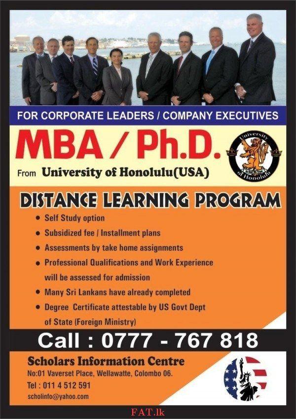 Mba Phd Usa Distance Learning Program Business Management Degree Distance Learning Programs Business School