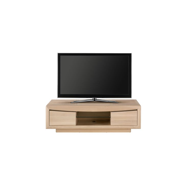 meuble tv epsilon l150cm h45cm p45cm monsieur meuble - Meuble Tv Blanc Modele Lions