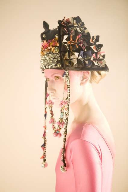 Fred Butler 2009 Origami headpiece