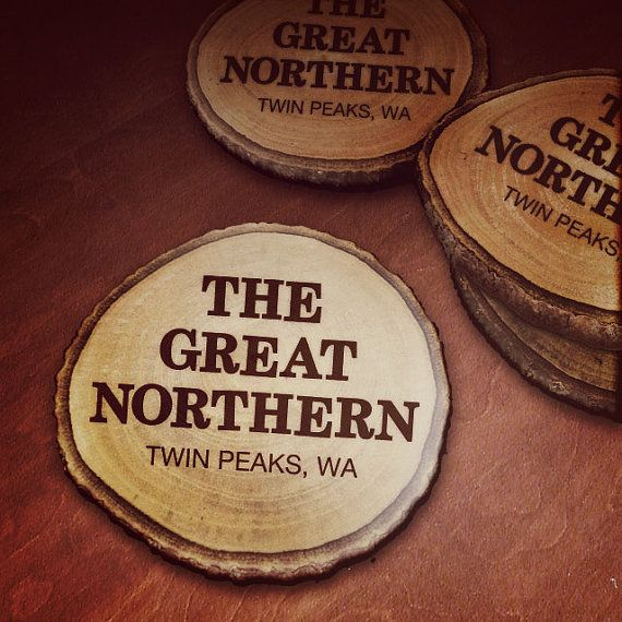 Twin Peaks' The Great Northern Hotel Wooden Drink by SaulsCreative