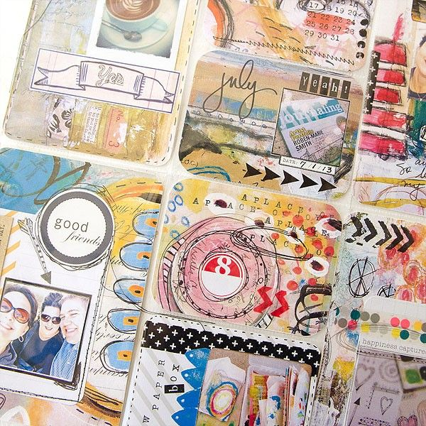 Inspiration ... Somerset Place: The Official Blog of Stampington & Company » Blog Archive Top Artists Reveal Their Art Journal Must-Haves