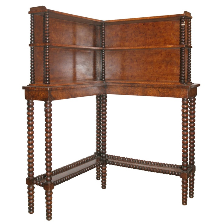 1stdibs - BOBBIN  CORNER DISPLAY UNIT explore items from 1,700  global dealers at 1stdibs.com
