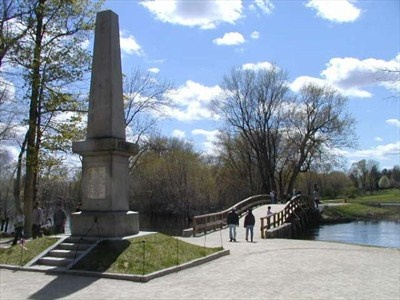 Battle of Lexington and Concord - Old North Bridge ,, Massachusetts
