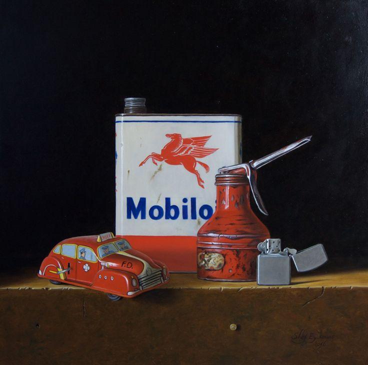 Recent work - Stefaan Eyckmans   Still life paintings