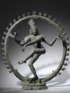 Shiva as Nataraja, Lord of the Dance.