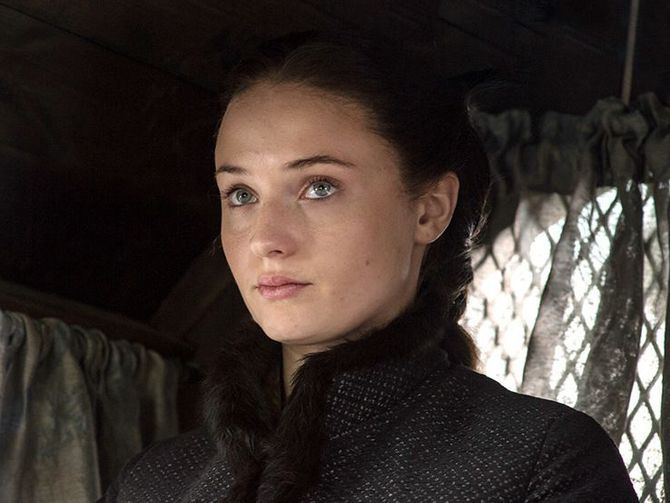 """We got them together just the other day,"" the actress who plays Sansa Stark said, adding that while it's their first matching tattoo, it might not be their last."