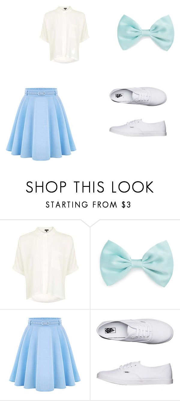 Grease Inspired Outfit (Sandy) by neverfailing on Polyvore featuring Topshop, WithChic, Vans and Forever 21