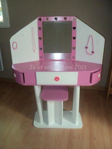 Plus de 1000 id es propos de meuble en carton sur pinterest tables album - Coiffeuse meuble enfant ...