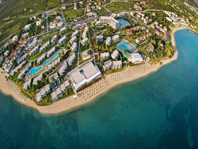 Ikos Olivia 5 Stars luxury hotel in Gerakini Beach Offers Reviews