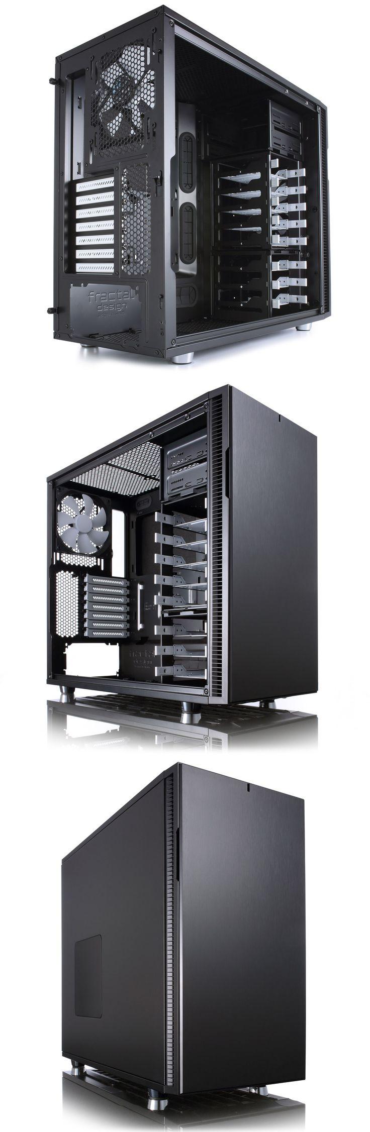 Fractal Design Define R5 Mid Tower Black [FD-CA-DEFR5-BK] : PC Case Gear