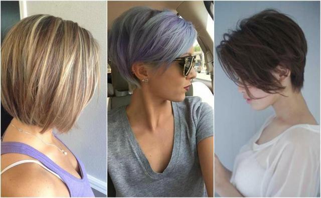Włosy krótkie - fryzury 2017 #włosy #krótkiewłosy #krótkie #fryzurykrótkie