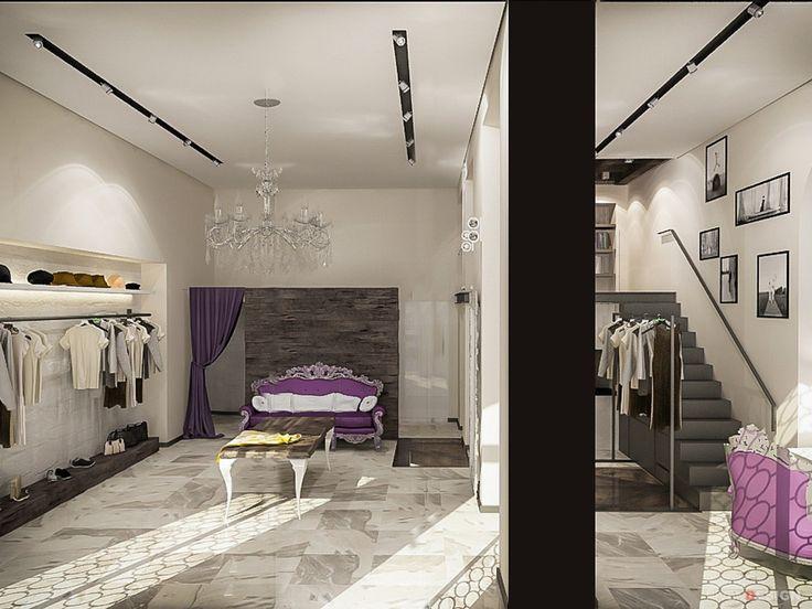Дизайн интерьера бутика-ателье