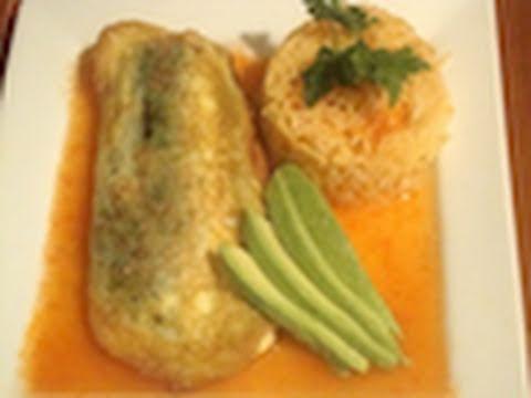 4.- Calabazas rellenas de queso capeadas con huevo