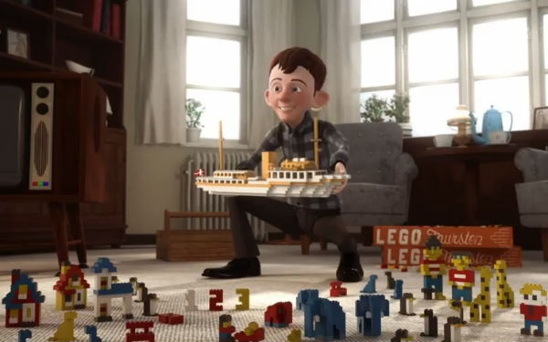 To recognize 80 years of toy creation, Lego has released this 17-minute story of the company's history.