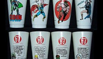 1975 Marvel 7-11 Slurpee Cups