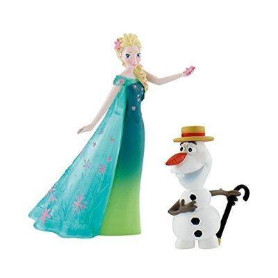 Chollo en Amazon España: Figuras Olaf y Elsa de Frozen por solo 6,27€ (un 45% de descuento sobre el precio de venta recomendado y precio mínimo histórico)