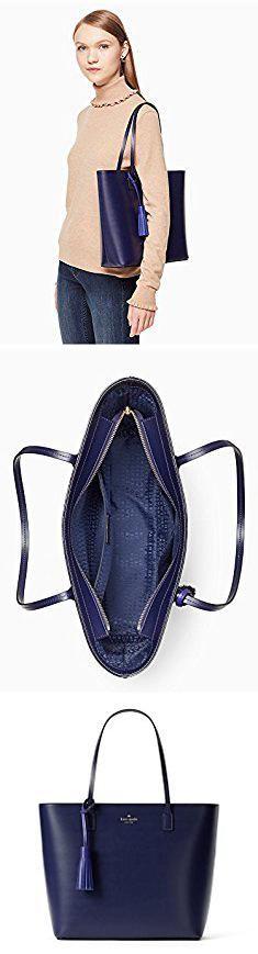 Kate Spade Blue Handbag. Kate Spade New York Wright Place Karla Leather Tote Shoulder Bag Purse Handbag (sapphire/nightlife blue).  #kate #spade #blue #handbag #katespade #spadeblue #bluehandbag