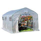 Found it at Wayfair - FarmHouse XL 9' W x 15' D Polyethylene Commercial Greenhouse