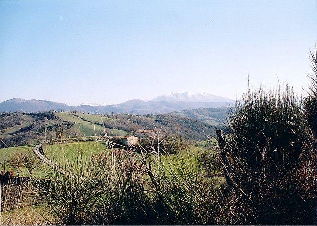 La campagna di Gualdo Tadino | Umbrian countryside near Gualdo Tadino | #AltaUmbria #italy
