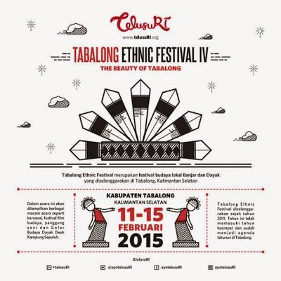Up coming Ethnic Festival of Tabalong, Kalimantan Selatan