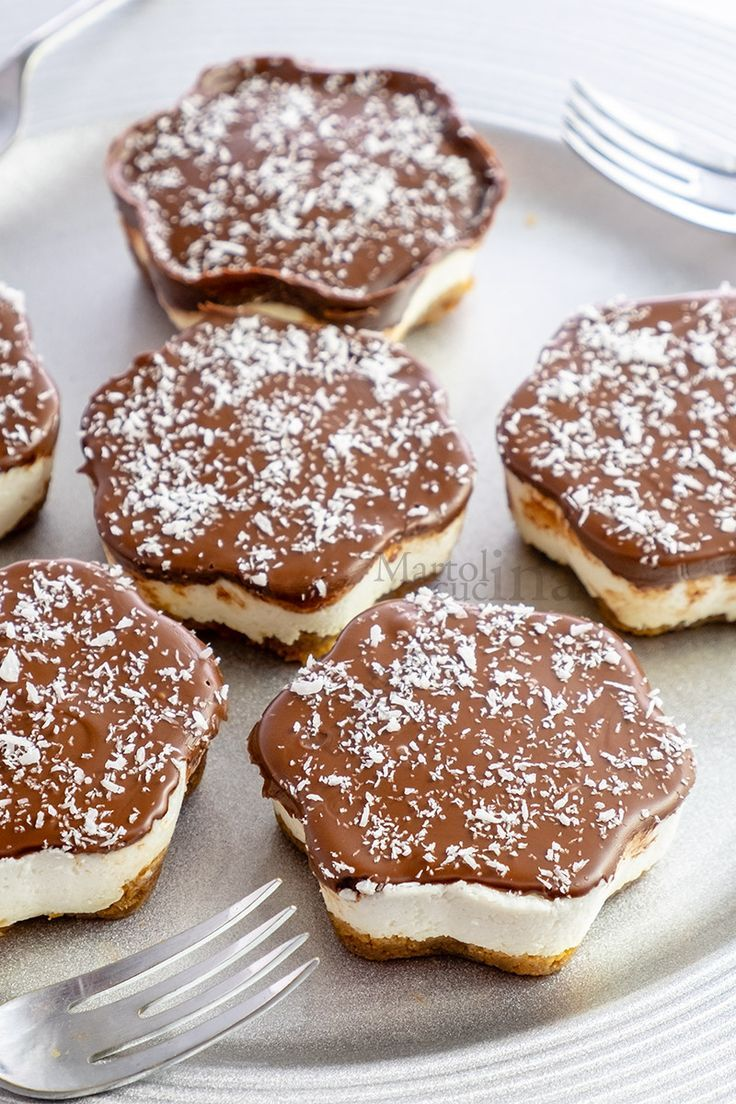 Cheesecake velocissima cocco e nutella, senza panna e colla di pesce – #cheeseca…