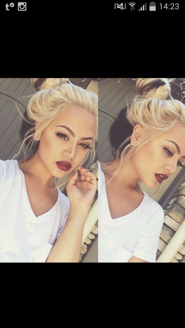 Her hair, lips, and brows are PERFECT. The 3 biggest things to me when it comes to beauty