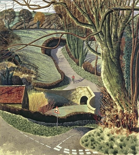 Cycling Home, 1996, Simon Palmer