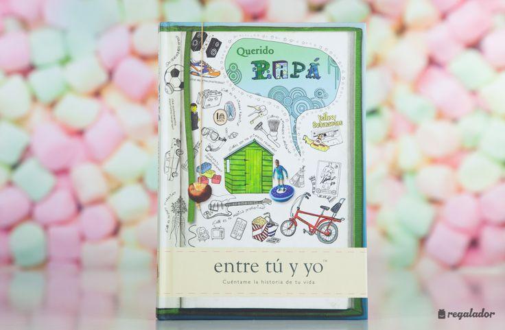 'Querido Papá': el libro personalizable para padres e hijos. El libro ideal para regalar a los papás Más de 60 preguntas para profundizar en la relación entre padres e hijos.