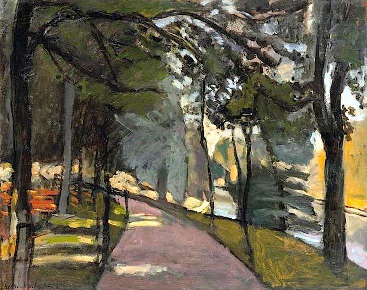 Henri Matisse - Bois de Boulogne, 1902 | Matisse Realty of Southern California