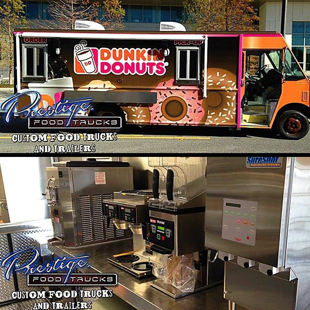 We Built Out The First Ever Dunkin' Donuts Food Truck