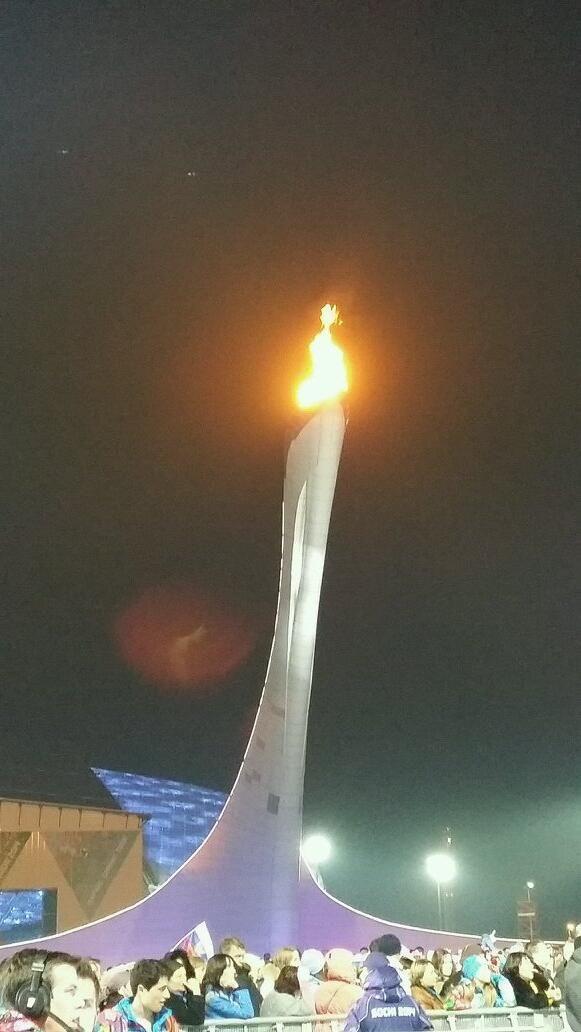 Winter Olympics 2014 Sotchi Olympic fire