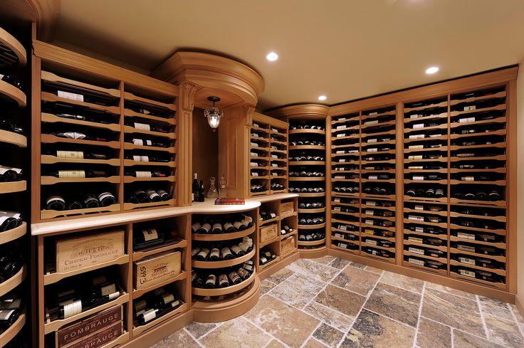 pictures of wine cellars | Revel Custom Wine Cellars_1