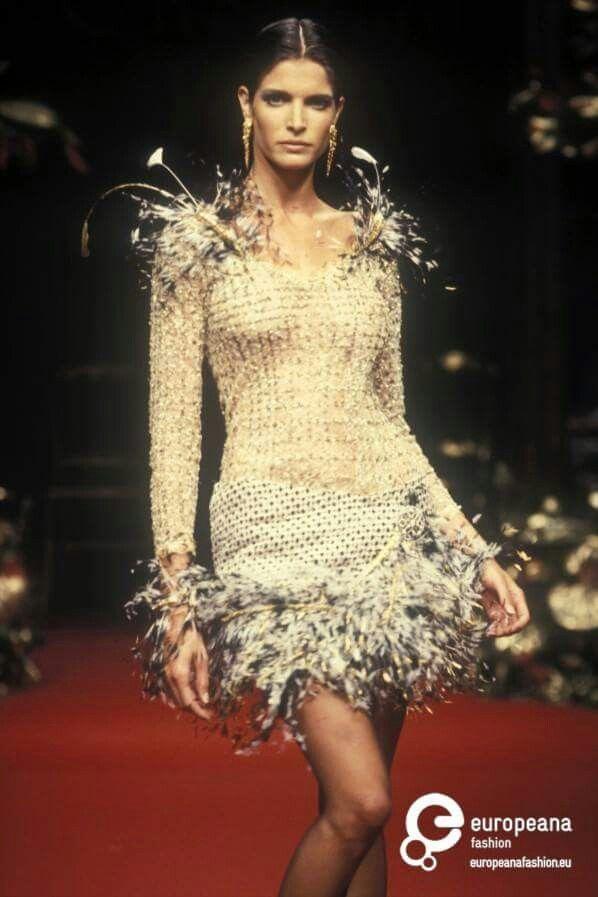 Stepanie Seymour for Christian Dior 1994