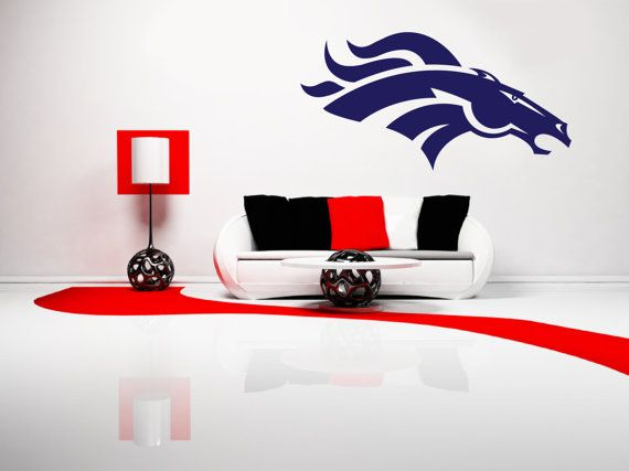 Removable Denver Broncos Football Team Wall Art By Signs4Half 1700
