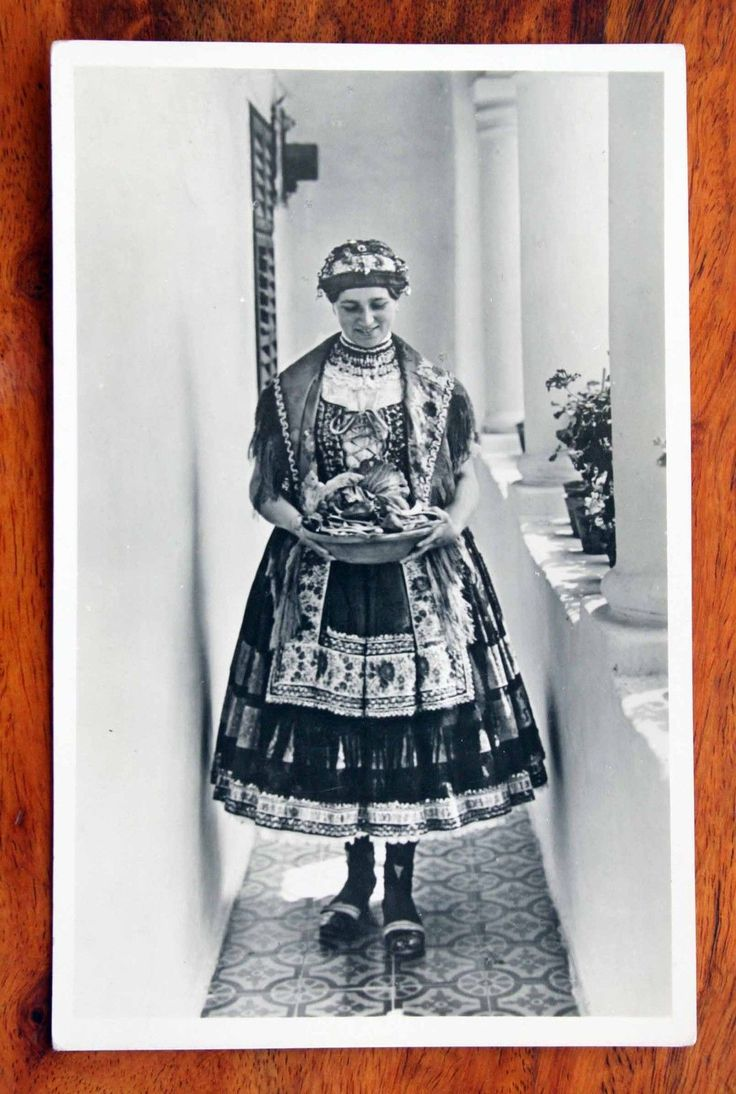 Vintage Photo Postcard RP Hungary Sarkoz Traditional Popular Costumes   eBay
