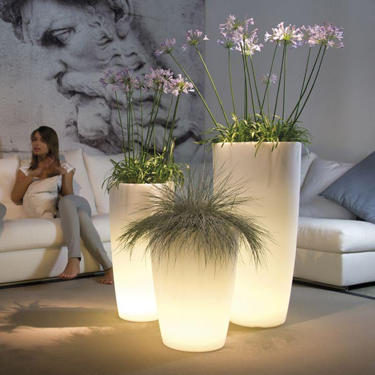 Vaso luminoso Tylus Light elegante e di design. By Nicoli. [www.viadurini.it]