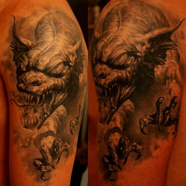 Dragon tattoo best tattoos ever tattoo by dmitriy for The best tattoos ever