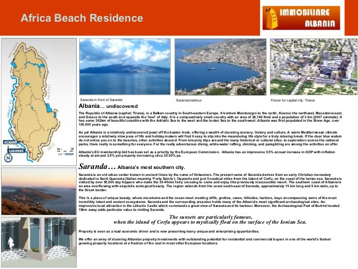 Albania … undiscovered The Republic of Albania (capital; Tirana), is a Balkan country in South-eastern Europe. It borders ...