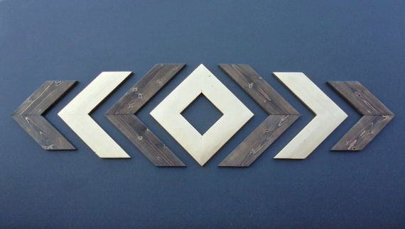 Rustic Wood CHEVRON ARROWS Stained / by DawsonCreativeCustom