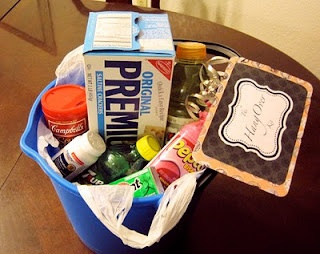 Hangover kits to put in guests' rooms!