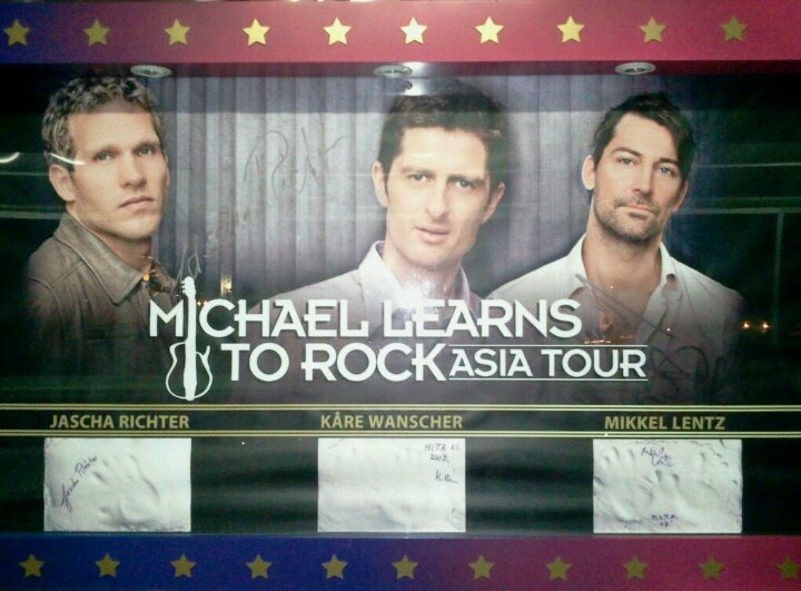 MLTR billboard in Genting Highlands