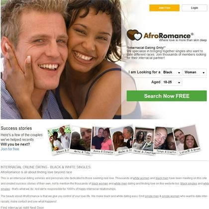black and white dating web)