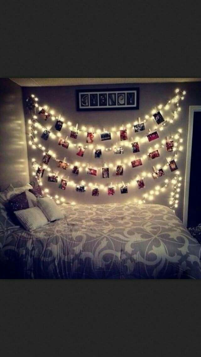 Cute way to display a lot of pictures of you and your significant other.