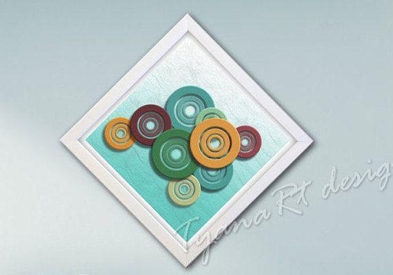 Geometric Wall Art Circle print Geometric print Digital by TyanaRt