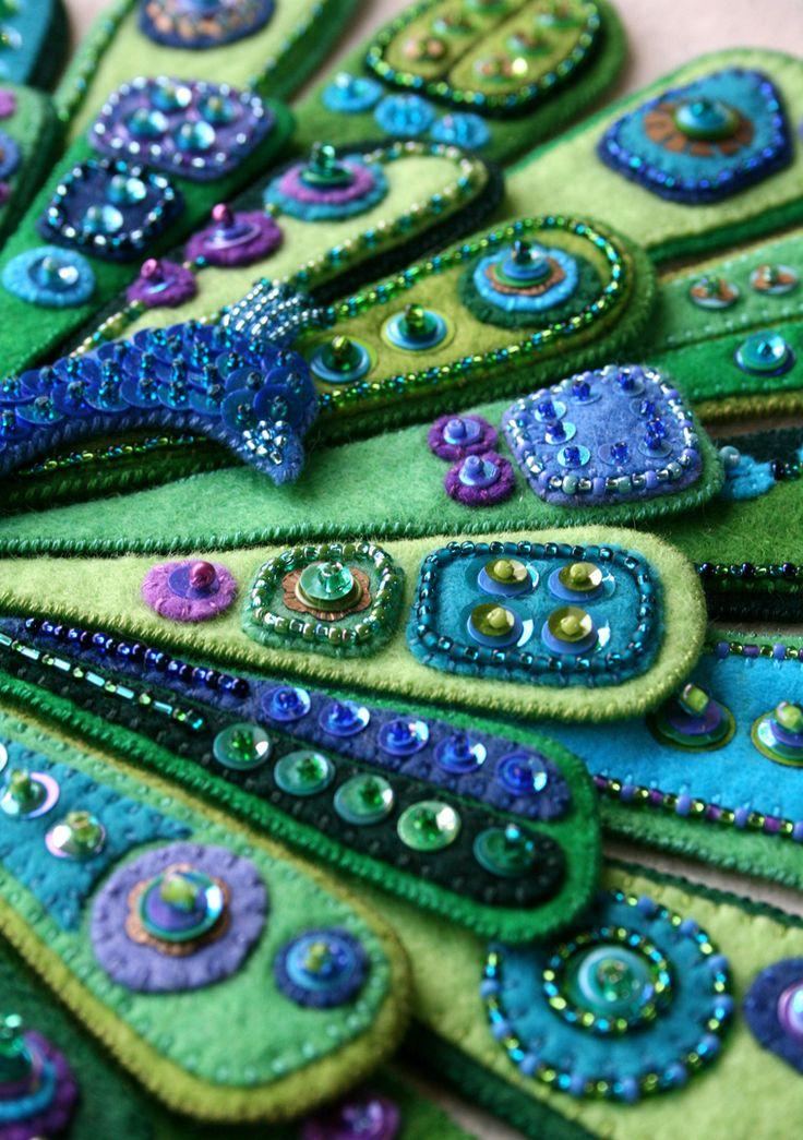 «Просто так»: Kerrin Quall — мастерица, которая очень любит фетр и вышивку - Ярмарка Мастеров - ручная работа, handmade
