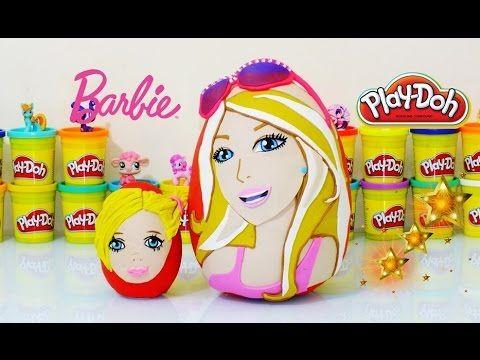 Barbie ve Chelsea Sürpriz Yumurta Oyun Hamuru - Barbie,Chelsea, My Littl...