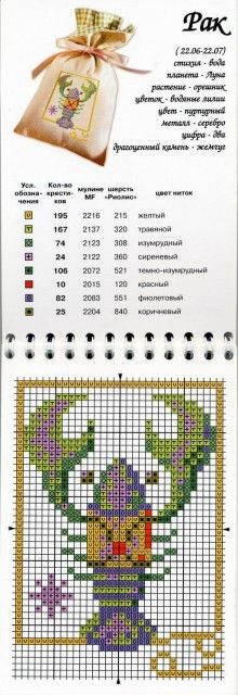Punto de cruz - signos del zodíaco.: Cross Stitch, Cancer Charts, Models Broderie, Del Zodíaco, Cross Stitch, Service Online Diaries, Crosses Stitches, P Cruz, Assort Charts