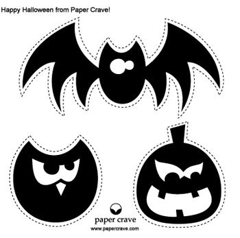121 best halloween Printables and Crafts images on Pinterest ...
