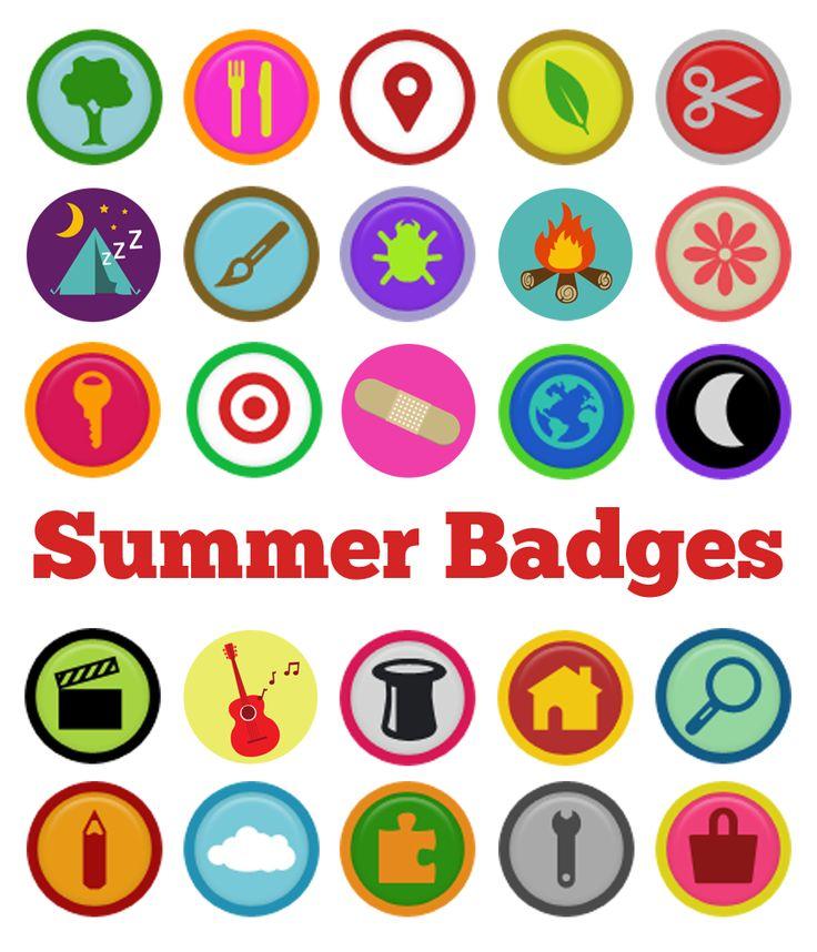 Fun Badges For Kids To Make
